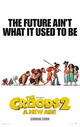 Croods 2 Movie Poster
